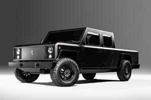 Bollinger's Rugged Electric Trucks Are Extremely Expensive