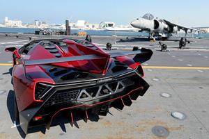 Lamborghini Blasting Off To Space For Advanced Testing