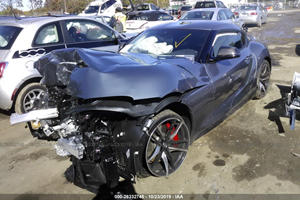 Wrecked Toyota Supra's Owner Couldn't Handle The Power