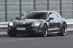 Porsche Taycan Cross Turismo Proves It's Crazy Fast
