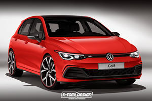 Next-Generation Volkswagen Golf GTI Will Look Like This