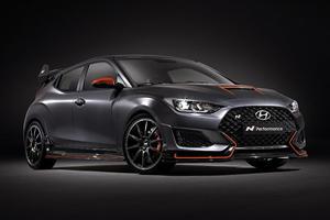 Hyundai Veloster N Performance Concept Debuting At SEMA