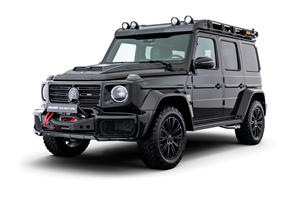 Latest Brabus Mercedes G-Class Is Ready to Get Dirty