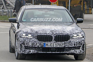This Is Our Best Look Yet At The New BMW 5 Series