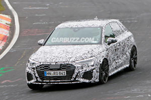 Audi RS3 Shows Its Fresh New Face