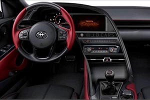 This Is What The New Supra's Cockpit Should Look Like