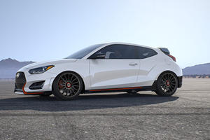 Custom Hyundai Veloster N Is A Honda Civic Type R Killer