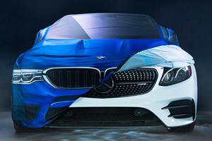 BMW Trolls Mercedes On Halloween, Gets Owned