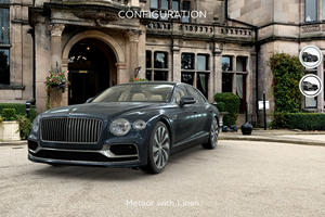 Bentley Launches App To Allow You To Drive A Flying Spur Anywhere