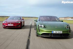 Porsche Taycan Takes On Tesla Model S In Ultimate Showdown