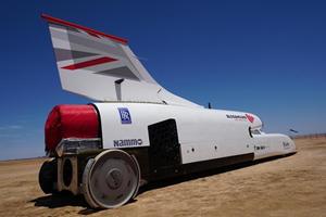 Bloodhound LSR Jet Car Achieves Highest Speed Yet