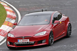 Tesla Model S Just Posted A Crazy Fast Nurburgring Lap Time