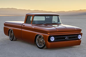 Chevy E-10 Concept Packs 450 Electric Horsepower Into An Old Truck