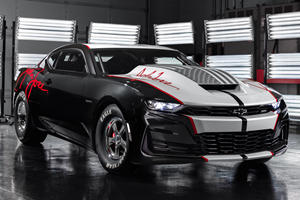 2020 COPO Camaro John Force Edition Heads Chevy's Muscle Onslaught At SEMA