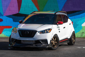 Wild Nissan Kicks And Titan With Everything Unveiled At SEMA