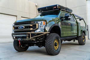 Stare In Awe At The Baja Forged Ford F-250 Super Duty