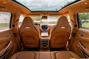 Check Out The Interior Of Aston Martin's New SUV