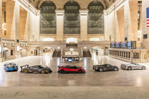 Pagani Takes Over New York's Grand Central Station