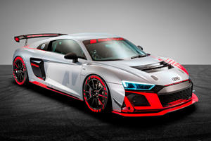 Audi's New R8 Race Car Unleashed With 500 HP