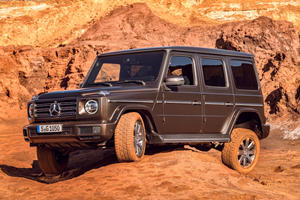 Mercedes G-Class To Become Electric Off-Roader