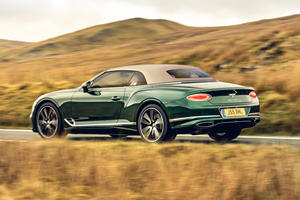 Bentley Continental GT Convertible Gets New Retro Roof