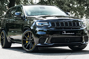 Jeep Grand Cherokee Trackhawk Taken To New Extreme