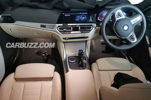 Check Out The New BMW 4 Series' Interior