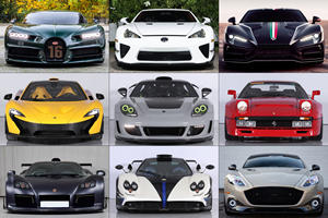 46 Spectacular Supercars Coming To Saudi Arabia Auction