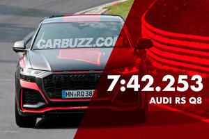 Audi RS Q8 Smashes SUV Nurburgring Lap Record