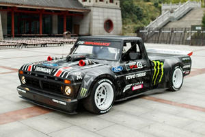 Ken Block Tackles One Of The World's Most Dangerous Roads In 900-HP Pickup Truck