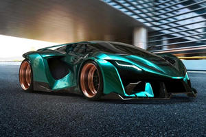 New Middle-Eastern Hypercar Is A 1,200-HP Monster