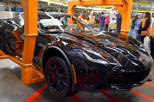 Final Chevrolet Corvette C7 Rolls Off The Production Line
