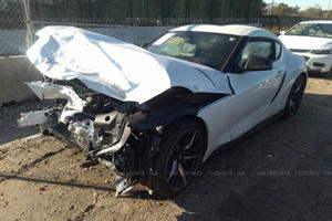 2020 Toyota Supra Totaled After Just 500 Miles