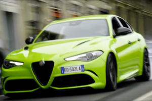Alfa Romeo Giulia Stars In Crazy Michael Bay Car Chase
