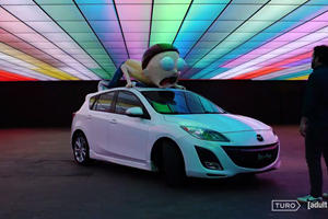 You Can Rent This Official Rick and Morty-Themed Car