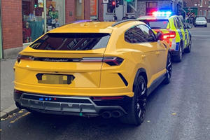 Lamborghini Urus Seized Because Driver Is A Colossal Idiot