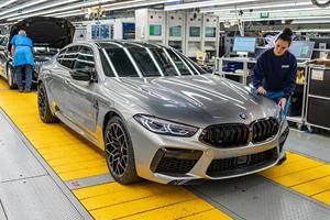 Gorgeous BMW M8 Gran Coupe Enters Production