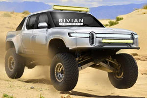 What If Rivian Built A Hardcore Off-Road Racing Truck?