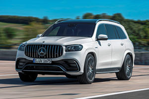 2021 Mercedes-AMG GLS 63 Arrives With Over 600 HP