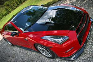 1,400hp GT-R Rip the Strip in 9 Secs