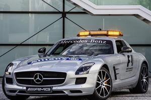F1 Gets New SLS AMG GT Safety Car