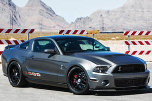 Shelby 1000 Warps Time on Desert Romp