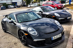 New Porsche GT3 Spotted Naked in Spain