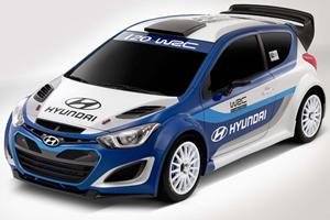 Hyundai Goes Rallying with new i20 WRC