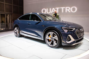 Say Hello To The 2020 Audi e-tron Sportback (And The Coolest Headlights You Can't Have)