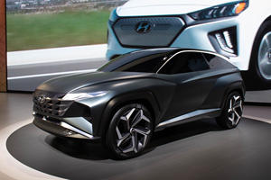 All-New Tucson Previewed By Hyundai Vision T Concept
