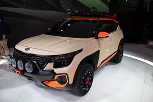 Aggressive Kia Seltos Concepts Ready For Adventures
