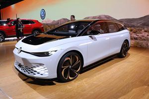 Volkswagen ID.Space Vizzion Concept Previews A Sleek Future