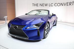 What A Beauty: 2021 Lexus LC 500 Convertible Lands In LA