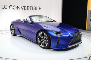 2021 Lexus LC 500 Convertible First Look Review: Open Air V8 Glory